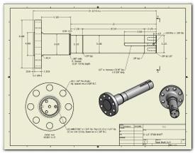 shaft CAD dwg