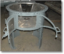 coal feeder weldment