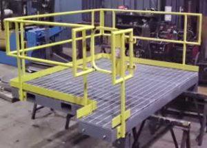 sturdy platform