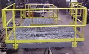 sturdy platform - front