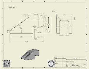 Buckstay Clip Inventor DWG