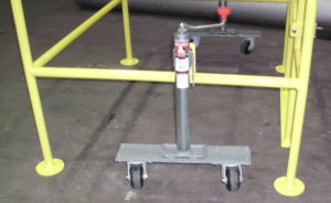 Movable Safety Barrier - Caster